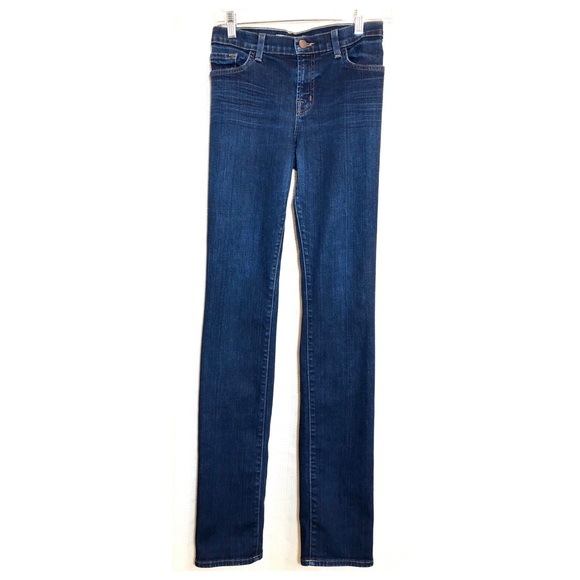 J Brand Denim - J Brand Low Rise Medium Wash Skinny Jeans